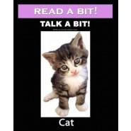 Read a Bit! Talk a Bit! Cat :Cat