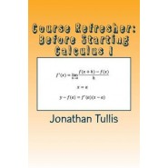 Course Refresher :Calculus
