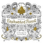 Enchanted Forest :An Inky Quest and Colouring Book