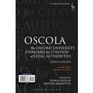 OSCOLA :The Oxford University Standard for Citation of Legal Authorities