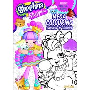Shopkins Shoppies Mega Colouring Book