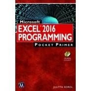 Microsoft Excel 2016 Programming :Pocket Primer