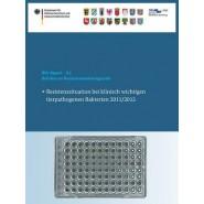 Berichte Zur Resistenzmonitoringstudie 2011/2012 :Resistenzsituation Bei Klinisch Wichtigen Tierpathogenen Bakterien