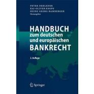 Handbuch Zum Deutschen Und Europ Ischen Bankrecht