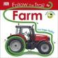 Follow the Trail Farm :Take a Peek! Fun Finger Trails!