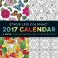 Stress Less Coloring 2017 :12 Months of Coloring Pages for a Year of Fun and Relaxation
