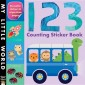 123 Counting Sticker Book