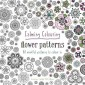 Calming Colouring Flower Patterns :80 colouring book patterns
