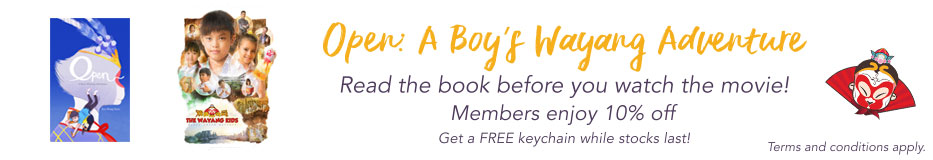 Open: A Boy's Wayang Adventure